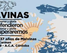 Honramos los 37 años de Malvinas