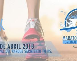 Maratón Malvinas Homenaje Ara San Juan