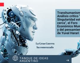 Transhumanismo. Análisis crítico de LA SINGULARIDAD ESTÁ CERCA